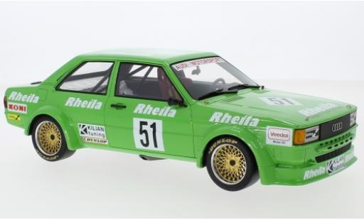 Audi 80 1/18 Premium ClassiXXs (B2) Gr.2 No.51 Kilian Tuning Rheila ETCC Zolder 19 W.Wolf/F.Rosterg miniature