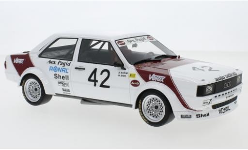 Audi 80 1/18 Premium ClassiXXs GTE (B2) Gr.2 No.42 Abex Pagid Racing Team ETCC GP Brünn 19 P. Seikel/M.Trint miniature