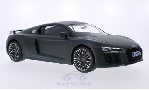 Audi R8 1/18 Premium ClassiXXs V10 Plus Coupe matt-oliv 2015 diecast model cars