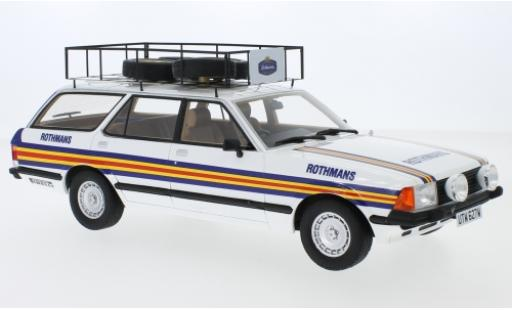Ford Granada 1/18 Premium ClassiXXs MK II Turnier RHD Rothmans 1981 Rothmans Rally Team diecast model cars