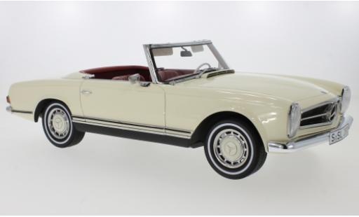 Mercedes 280 1/12 Premium ClassiXXs SL (W113) beige/noire Pagode 1968 miniature