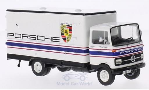 Mercedes LP 608 1/43 Premium ClassiXXs Koffer-LKW Porsche-Motorsport miniature