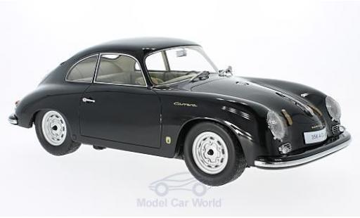 Porsche 356 A 1/12 Premium ClassiXXs A Coupe noire miniature