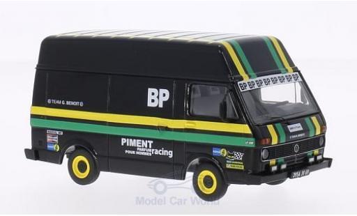 Volkswagen LT28 1/43 Premium ClassiXXs BP Motorsport Hochraumkastenwagen Team G.Benoit miniature