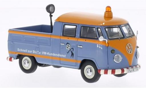 Volkswagen T1 1/43 Premium ClassiXXs cabine double VW-Service clients coche miniatura