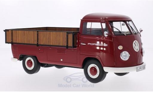Volkswagen T1 A 1/18 Premium ClassiXXs Großraumpritsche Porsche 1965 diecast model cars