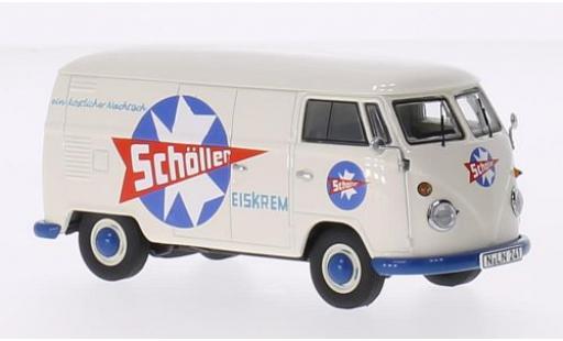 Volkswagen T1 1/43 Premium ClassiXXs Kastenwagen Schöller Eiskrem 1959 coche miniatura