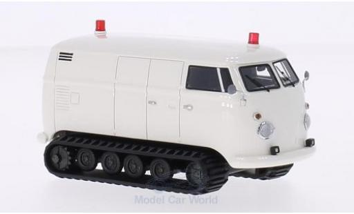 Volkswagen T1 B 1/43 Premium ClassiXXs Pistenbulli blanche 1966 miniature
