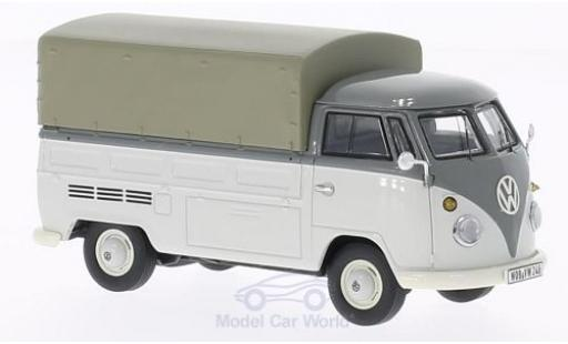 Volkswagen T1 A 1/43 Premium ClassiXXs Pritsche grise mit Plane miniature