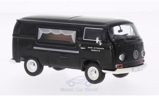 Volkswagen T2 B 1/43 Premium ClassiXXs a Kasten noire Gemeinde- und Sterbevereine Rohrbach Bestattungswagen miniature