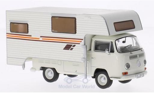 Volkswagen T2 A 1/43 Premium ClassiXXs a Pritsche Tischer Camping bianco/bianco miniatura