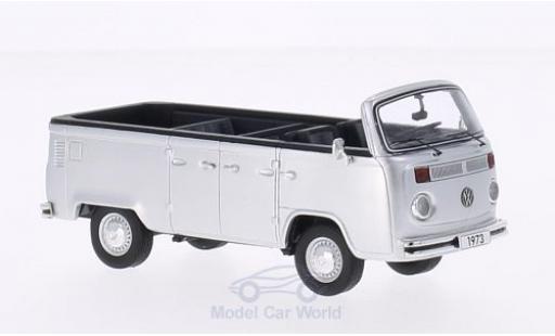 Volkswagen T2 B 1/43 Premium ClassiXXs b Open Air Bus grise 1973 miniature