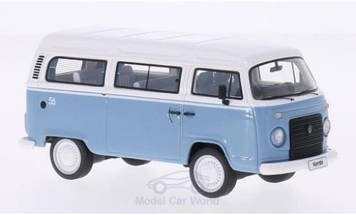 Volkswagen T2 B 1/43 Premium ClassiXXs c Bus Brazil hellbleue/blanche 2013 Last Edition miniature