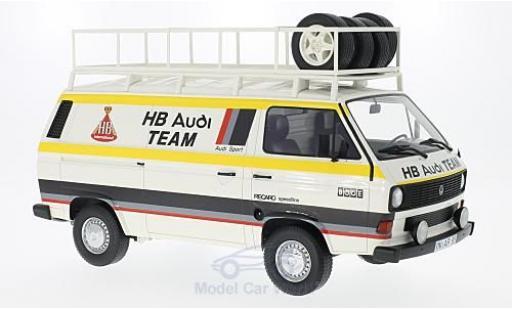 Volkswagen T3 B 1/18 Premium ClassiXXs H Audi Team 1980 Kastenwagen miniature
