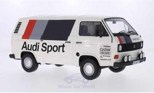 Volkswagen T3 A 1/18 Premium ClassiXXs Kasten Audi Sport 1980 miniature
