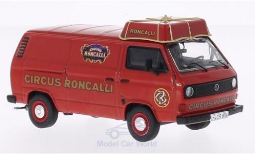 Volkswagen T3 A 1/43 Premium ClassiXXs a Circus Roncalli Kasten mit Schirmdach miniature