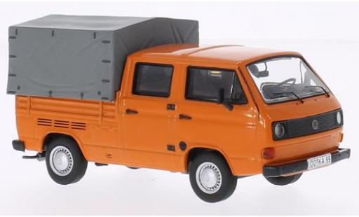 Volkswagen T3 1/43 Premium ClassiXXs a Doka Pritsche orange modellautos