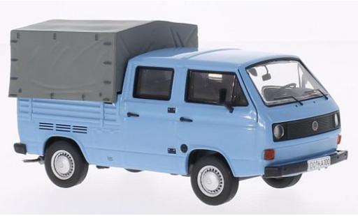 Volkswagen T3 1/43 Premium ClassiXXs a Doppelkabine Pritsche bleue miniature