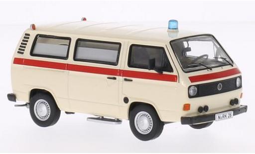 Volkswagen T3 1/43 Premium ClassiXXs a Krankenwagen DRK - Deutsches Rotes Kreuz modellautos