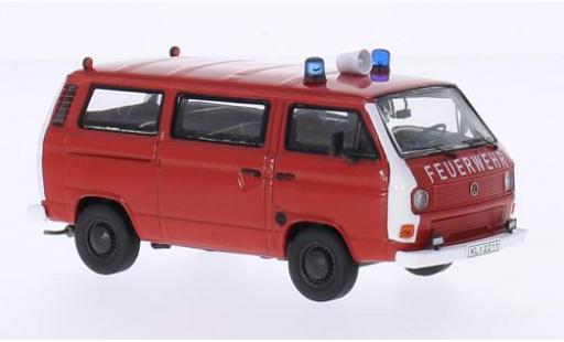 Volkswagen T3 1/43 Premium ClassiXXs b Bus Feuerwehr modellautos