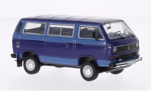 Volkswagen T3 1/43 Premium ClassiXXs b Syncro Bus blau/blau modellautos