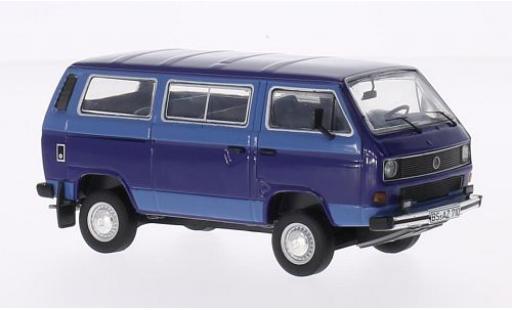 Volkswagen T3 1/43 Premium ClassiXXs b Syncro Bus bleue/bleue miniature