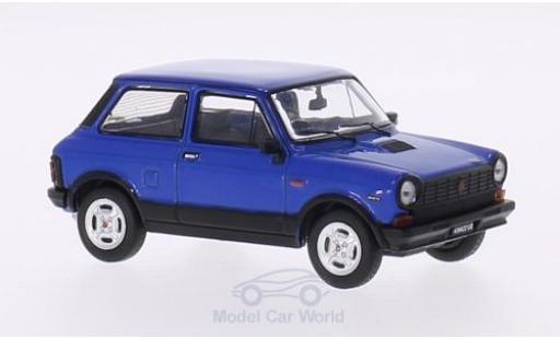 Autobianchi A112 1/18 Premium X Abarth bleue 1980 miniature
