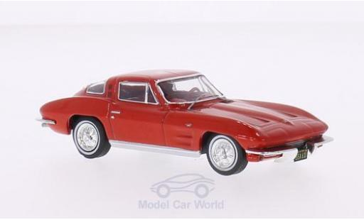 Chevrolet Corvette 1/43 Premium X (C2) Sting Ray rouge 1964 miniature