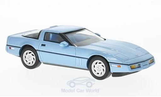 Chevrolet Corvette C4 1/43 Premium X  metallise bleue 1984 miniature