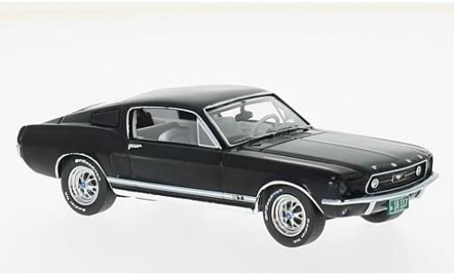 Ford Mustang 1/43 Premium X GT Fastback black 1967 diecast model cars