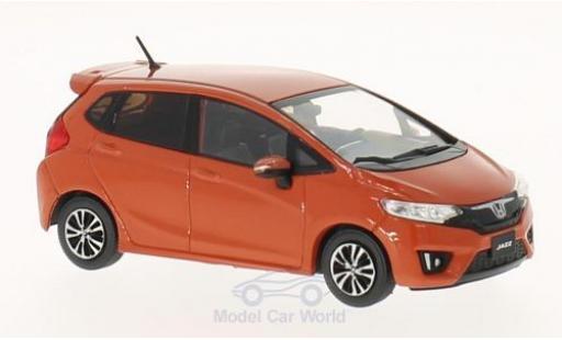 Honda Jazz 1/43 Premium X orange 2015 miniature