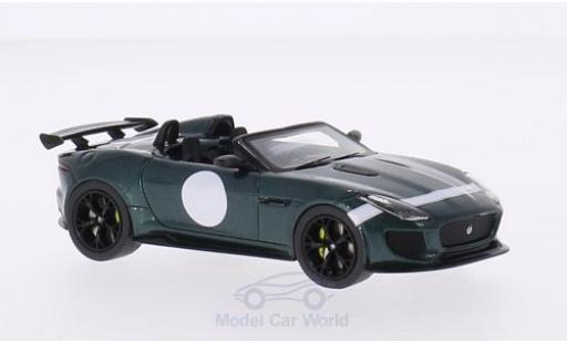 Jaguar F-Type 1/43 Premium X Project 7 metallise verte/Dekor 2014 Autosalon Paris miniature