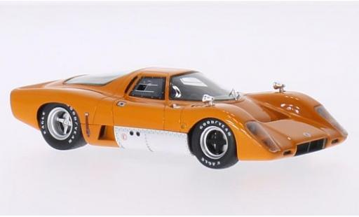 McLaren M6 1/43 Premium X B GT orange RHD 1969 miniature