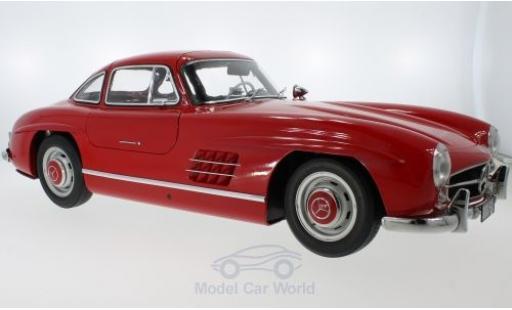 Mercedes 300 1/18 Premium X SL (W198) rouge 1954 miniature