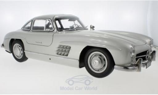Mercedes 300 1/18 Premium X SL (W198) grise 1954 miniature