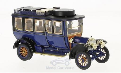Mercedes Simplex 1/43 Premium X 60 PS Reiselimousine bleue RHD 1903 miniature