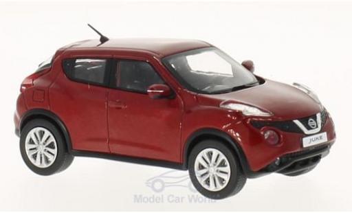 Nissan Juke 1/43 Premium X métallisé rouge 2015 miniature