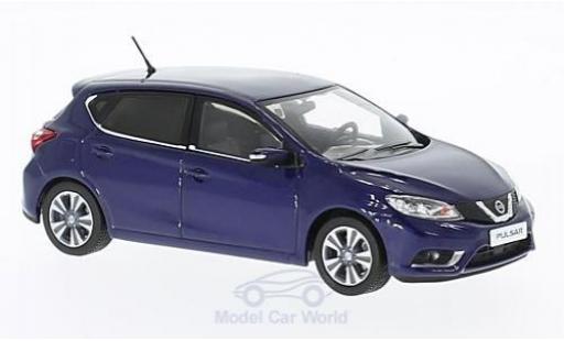 Nissan Pulsar 1/43 Premium X bleue 2015 miniature