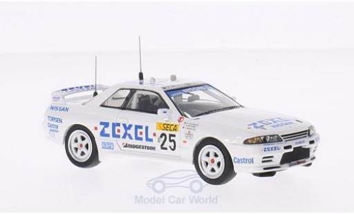 Nissan Skyline 1/43 Premium X R32 GTR RHD No.25 Zexel 24h Spa 1991 A.Olofsson/N.Hattori/D.Brabham diecast model cars