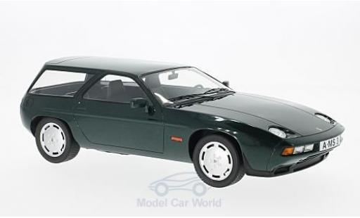 Porsche 928 1979 1/18 Premium X S Turbo Kombi Artz metallise verte miniature