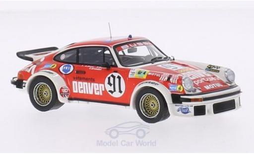 Porsche 934 1/43 Premium X No.91 Denver 24h Le Mans 1980 C.Bussi/B.Salam/C.Grandet miniature