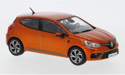 Renault Clio 1/43 Premium X RS Line metallise orange 2019 diecast model cars