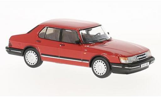 Saab 900 1/43 Premium X i rouge 1987 miniature