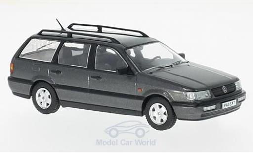 Volkswagen Passat 1/43 Premium X (B4) Variant métallisé grise 1993 miniature
