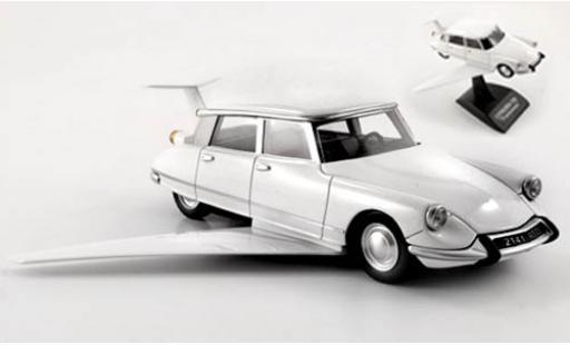 Citroen DS 1/43 Provence Moulage Fantomas blanco coche miniatura