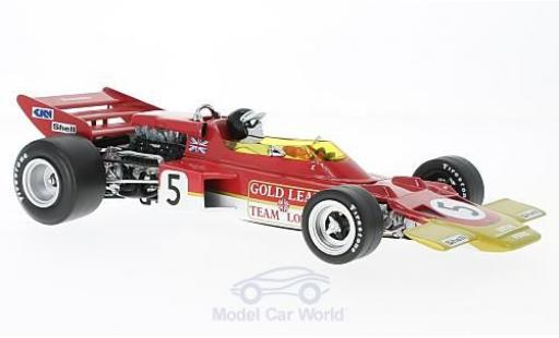 Lotus 72 1/18 Quartzo C No.5 Team Gold Leaf Formel 1 GP Großbritannien 1970 J.Rindt miniature
