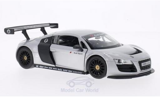 Audi R8 1/24 Rastar LMS grey diecast model cars