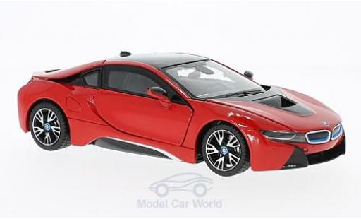 Bmw i8 1/24 Rastar red diecast model cars