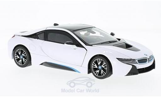 Bmw i8 1/24 Rastar white diecast model cars