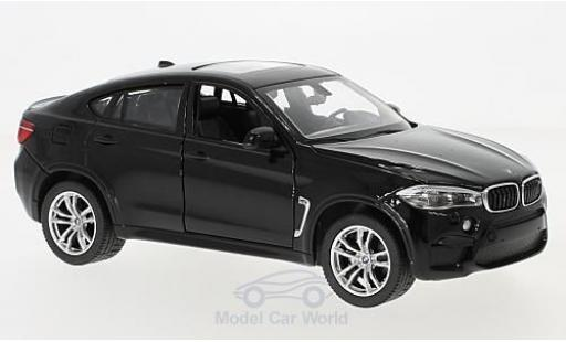 Bmw X6 1/24 Rastar M black diecast model cars